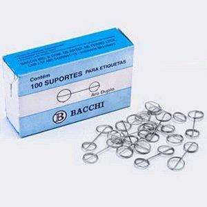 ALFINETE SUPORTE P/ETIQUETA BACCHI C/100