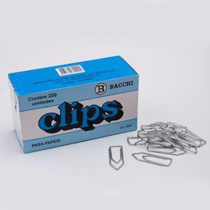 CLIPS 6/0 GALVANIZADO C/500GRS BACCHI