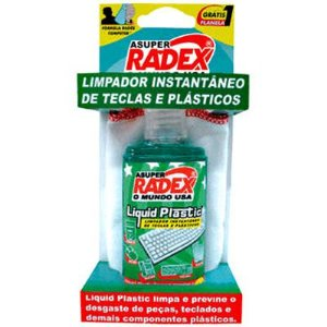 LIMPADOR SPRAY TECLADO PLAST. 60ML RADEX