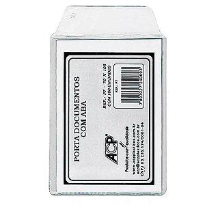 PORTA DOCUMENTO C/ABA 70X105 C/100 ACP