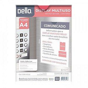 QUADRO MULTIUSO A4 CRISTAL 0534.H DELLO