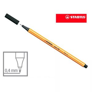 CANETA STABILO POINT 88 0,4MM PT SERTIC