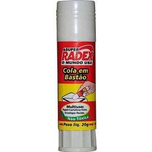 COLA BASTAO 20GRS C/01 RADEX