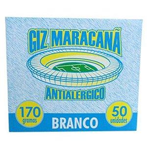 GIZ ESCOLAR BCO MARACANA C/50UND
