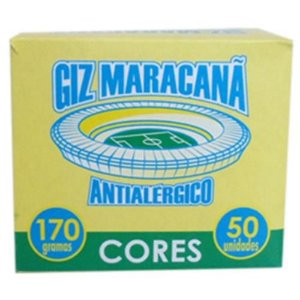 GIZ ESCOLAR COL MARACANA C/50UND