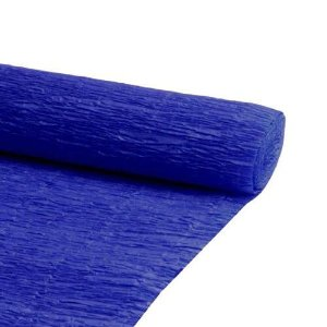 PAPEL CREPOM 48X2MTS C/10 AZUL ESCURO