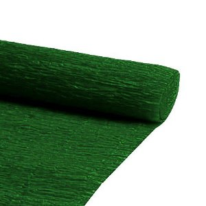 PAPEL CREPOM 48X2MTS C/10 VERDE ESCURO