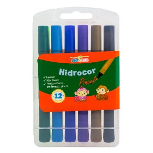 PINCEL HIDROGRAFICO JOCAR COLOR C/12