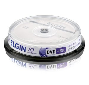 DVD+RDL DUAL LEAR 8,5GB C/10 ELGIN