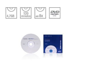 DVD-RW REGRAVAVEL CIS SLIM