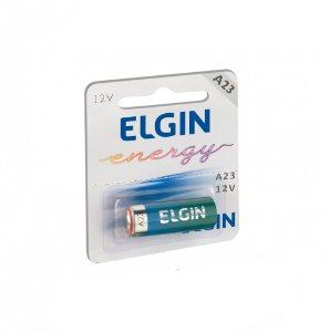 PILHA 12V A23 ALCALINA ELGIN C/01