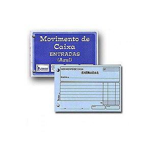 BLOCO MOVIMENTO CAIXA ENTRADA 95FLS C/10