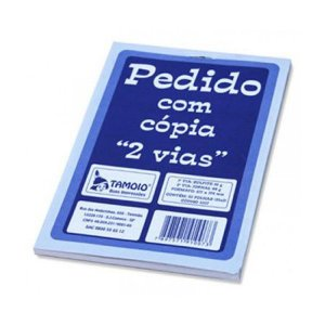 BLOCO PEDIDO 1/18 25X2 C/20