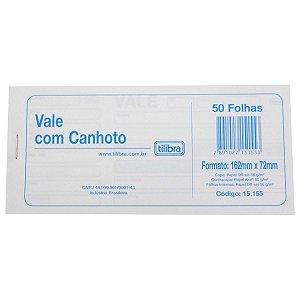 BLOCO VALE C/CANHOTO C/50FLS TILIBRA