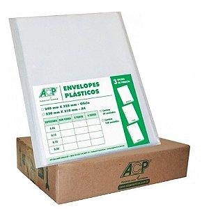 ENVELOPE PLAST 4FUROS A4 C/300 0,20 ACP