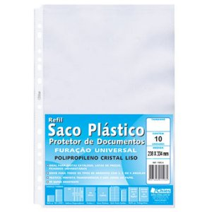ENVELOPE PLASTICO 13 FUROS OF C/10