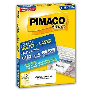 ETIQUETA 6183 50X101 C/1000 PIMACO