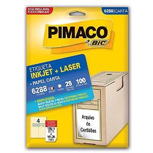 ETIQUETA 6288 106X138 C/100 PIMACO