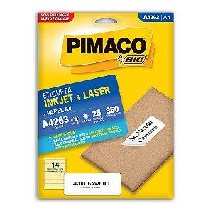 ETIQUETA A4263 38X99 C/350 PIMACO