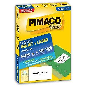 ETIQUETA A4350 56X99 C/1000 PIMACO