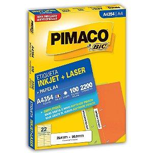 ETIQUETA A4354 25X99 C/2200 PIMACO