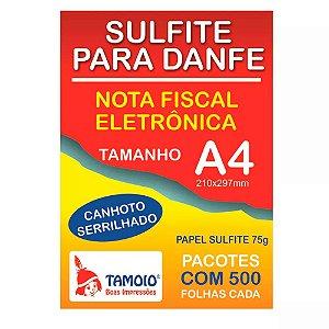 PAPEL A4 75G P/DANFE C/SER. 5X500FLS