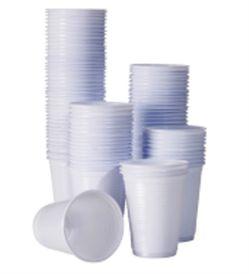 COPO DESC. PLAST 180ML C/2500 POLLYCOPOS