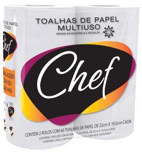 PAPEL TOALHA DE COZINHA C/2RLS