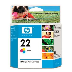 CARTUCHO HP 22AL C9352AL C/5ML COLOR