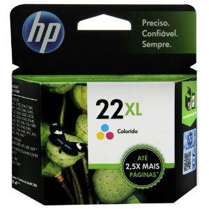 CARTUCHO HP 22XL C9352CB C/10ML COLOR