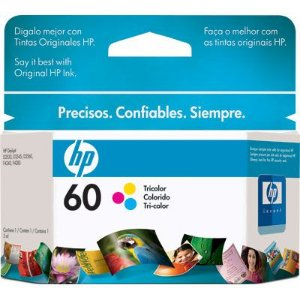 CARTUCHO HP 60 CC643WL C/6,5ML TRICOLOR