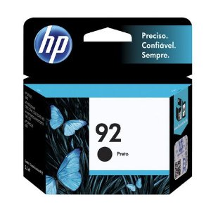 CARTUCHO HP 92 C9362WB C/5ML PRETO