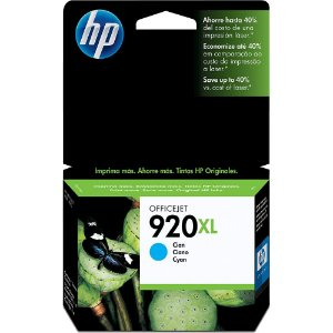 CARTUCHO HP 920XL CD972AL C/7,5ML CIANO