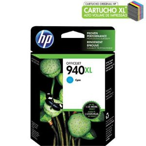 CARTUCHO HP 940XL C4907AL CIANO C/20ML