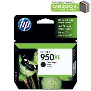 CARTUCHO HP 950XL CN045AL PRETO C/57,5ML