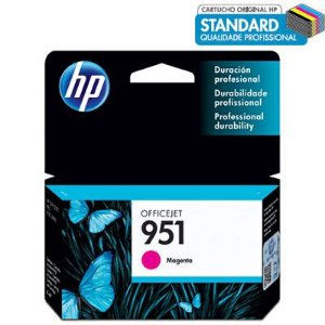 CARTUCHO HP 951 CN051AL MAGENTA C/8ML