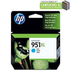CARTUCHO HP 951XL CN046AL CYANO C/17ML
