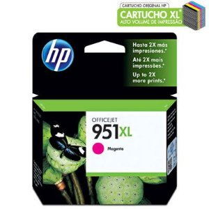 CARTUCHO HP 951XL CN047AL MAGENTA C/17ML