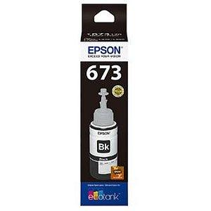 REFIL DE TINTA EPSON T673120 PRETO L800