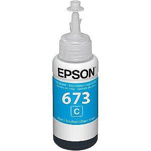 REFIL DE TINTA EPSON T673220 CYANO L800