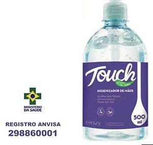 ALCOOL EM GEL ANTISSEPTICO C/500GRS ESSENZA