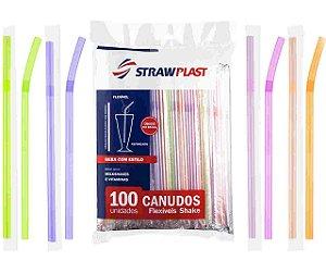 CANUDO NEON FLEXIVEL COLORIDO C/100UND