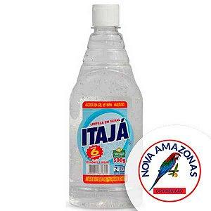 ALCOOL GEL LIMPEZA 65% C/500ML ITAJA