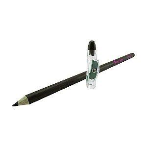 Lápis marrom p/ sobrancelha universal c/ apontador Bella Feme