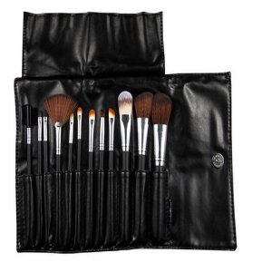 Kit com 12 Pincéis para Maquiagem KP1-2D Macrilan