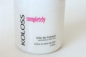 Leite de Limpeza Camomila e Aloe Vera 210ml Koloss