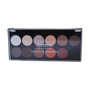 Paleta de Sombras 12 Cores - Bitarra Beauty