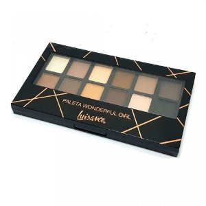 Paleta de Sombras Wonderful Girl Cor A Luisance