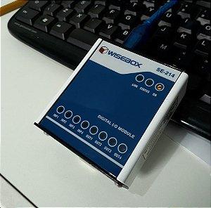 Módulo USB - 4 Entradas/4 Saídas Digitais Estado Sólido