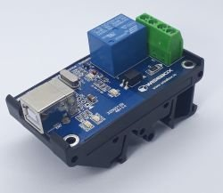 Módulo USB - 1 Entrada/1 Saídas Digitais a rele
